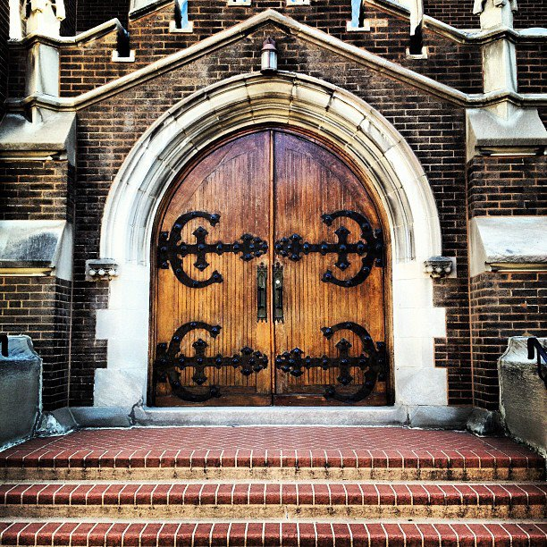 Abbey Doors
